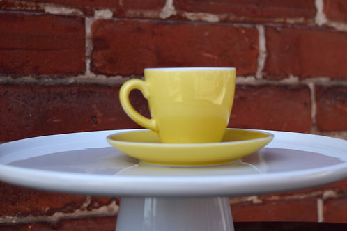 Diner Espresso Cup and Saucer