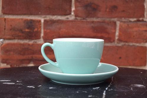 Mint Tea Cup and Saucer