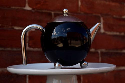 Black Henley Teapot