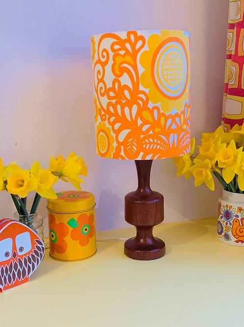 Vintage Lamp & Shade