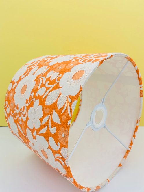Vintage Fabric Lampshade 25cm