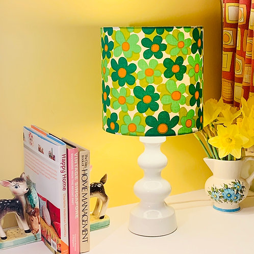 Ceramic Lamp + Shade