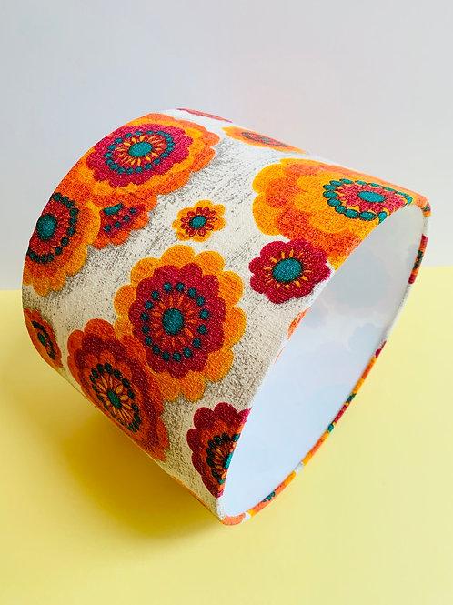 60s Fabric Lampshade 30cm