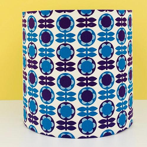 Vintage Fabric Lampshade 15cm