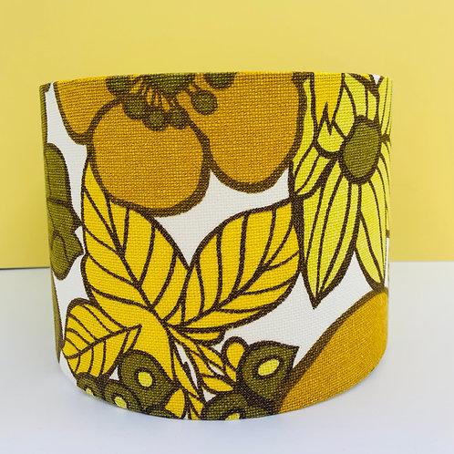 Vintage Fabric Shade 20cm