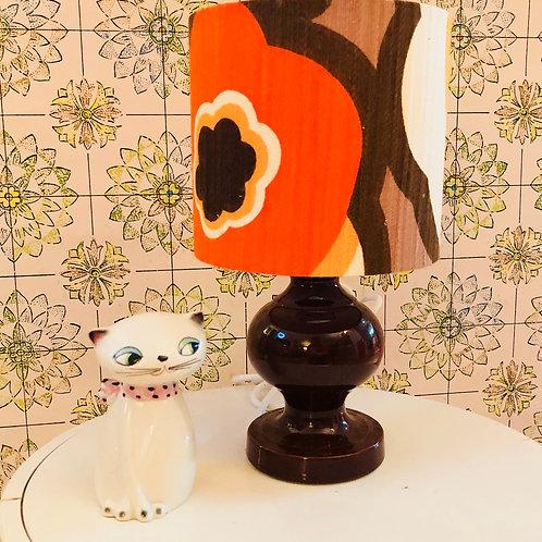Doulton ceramic lamp + shade