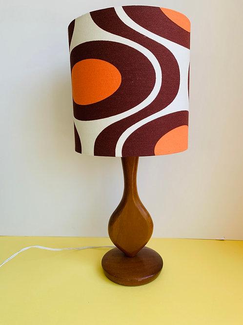 Vintage Lamp & Retro Shade