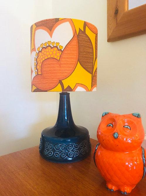 1960's Lamp & Shade