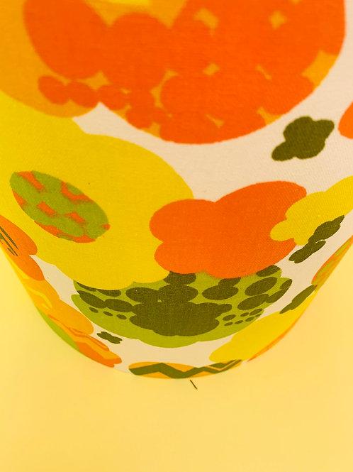 60s Fabric Lampshade