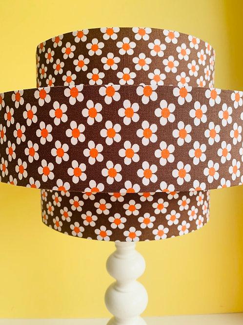 Vintage Lamp  & 3 tier lampshade