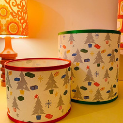 🎄CHRISTMASY LAMPSHADES 🎄 I am very exc