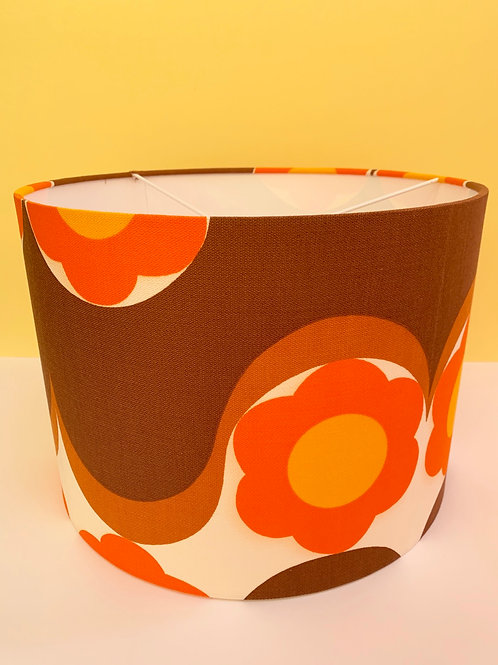 70s Retro Fabric Shade