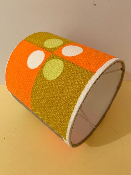60s fabric shade 15cm