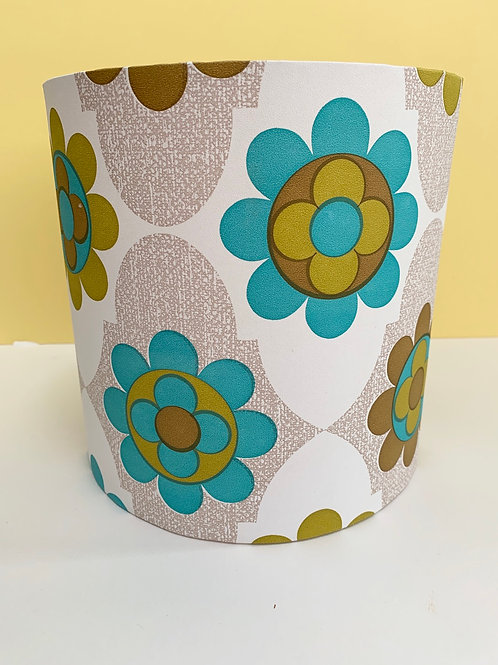 60s wallpaper lampshade
