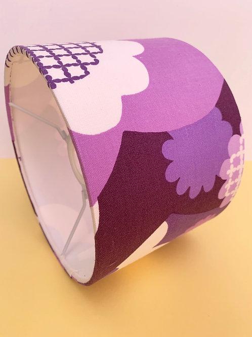 60s Fabric Lampshade 20cm