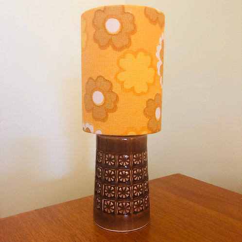 1960's Holkham Pottery Lamp
