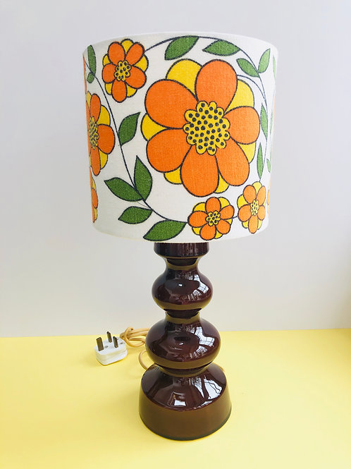 Retro Lamp & Shade