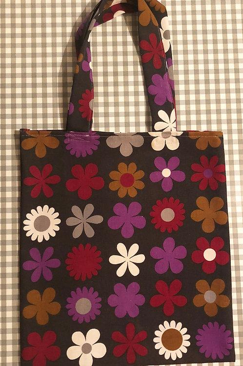 60's Fabric Tote Bag