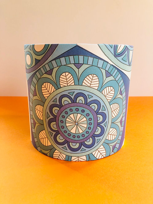 Vintage Wallpaper Lampshade