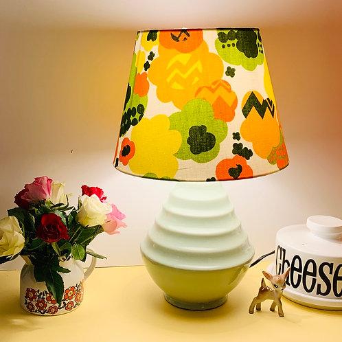 Vintage Doulton Lamp & Shadr