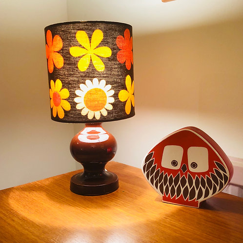 Vintage Doulton Lamp Base & Shade
