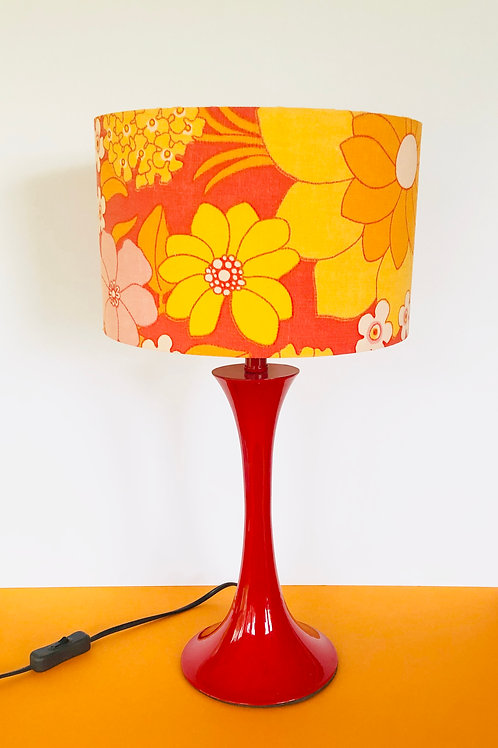 Swedish Fabric Shade & Base