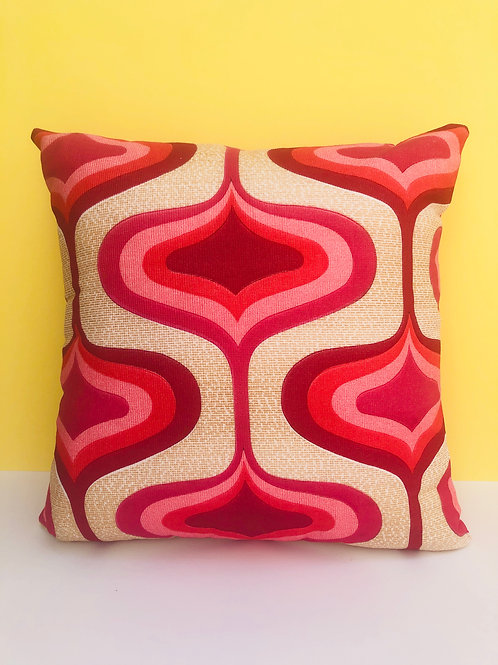 60s Fabric Cushion