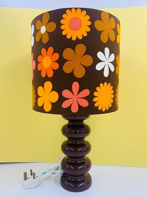 Sheerlite Doulton Lamp & Genia Sapper Shade