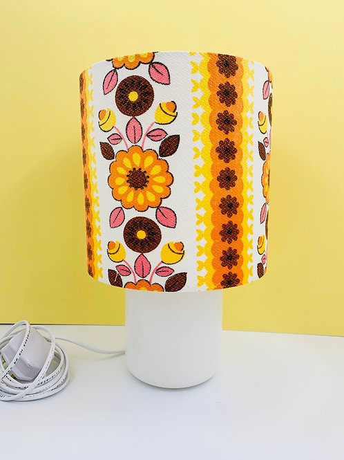 Vintage Doulton Ceramic Lamp & Shade