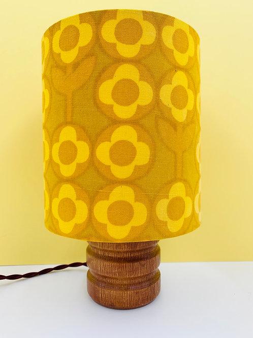 Small Vintage Lamp & Heals Shade