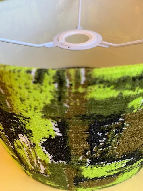50s Barkcloth Shade 25cm