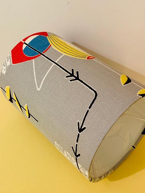 Atomic Fabric Lampshade 15cm
