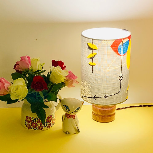Small Vintage Lamp & Shade