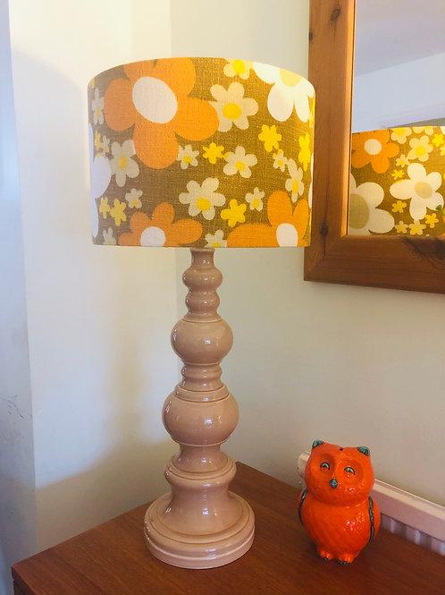 60's/70's Lamp & Shade