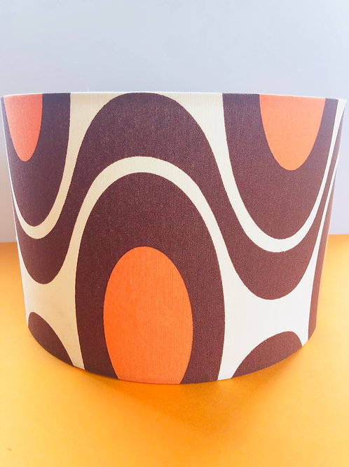 70s Fabric Shade 30cm