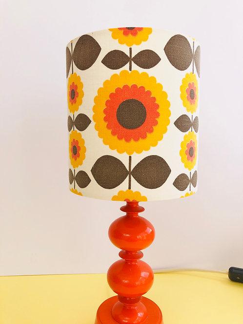 70's Fabric Lampshade