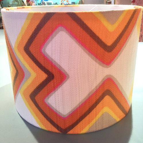 70's Fabric Shade