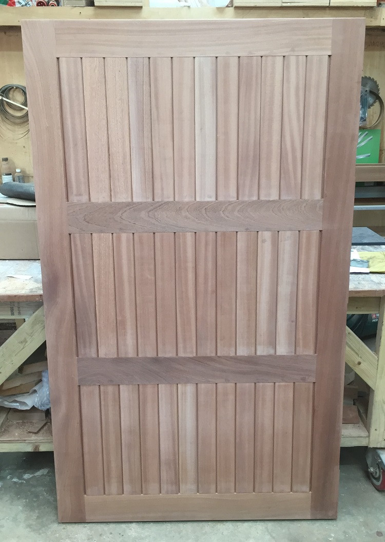 External door in Sapele