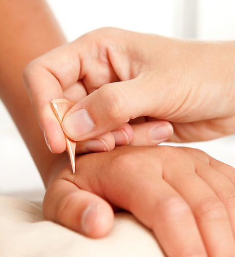 Japanese Shonishin is a gentle alternative to acupuncture.