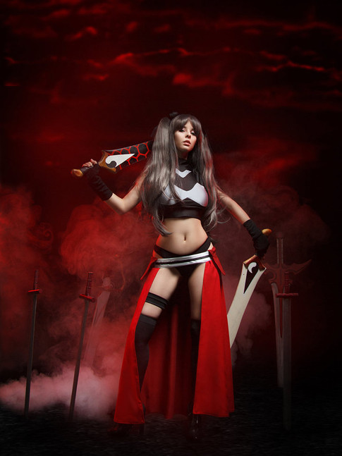 Cosplay Rin Tohsaka Archer version