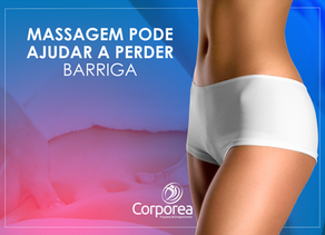 Drenagem linfática e massagem modeladora, quando bem indicadas, podem reduzir inchaço abdominal.
