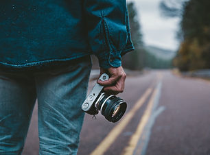 Photographer on Road