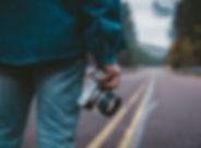 Le photographe sur la route