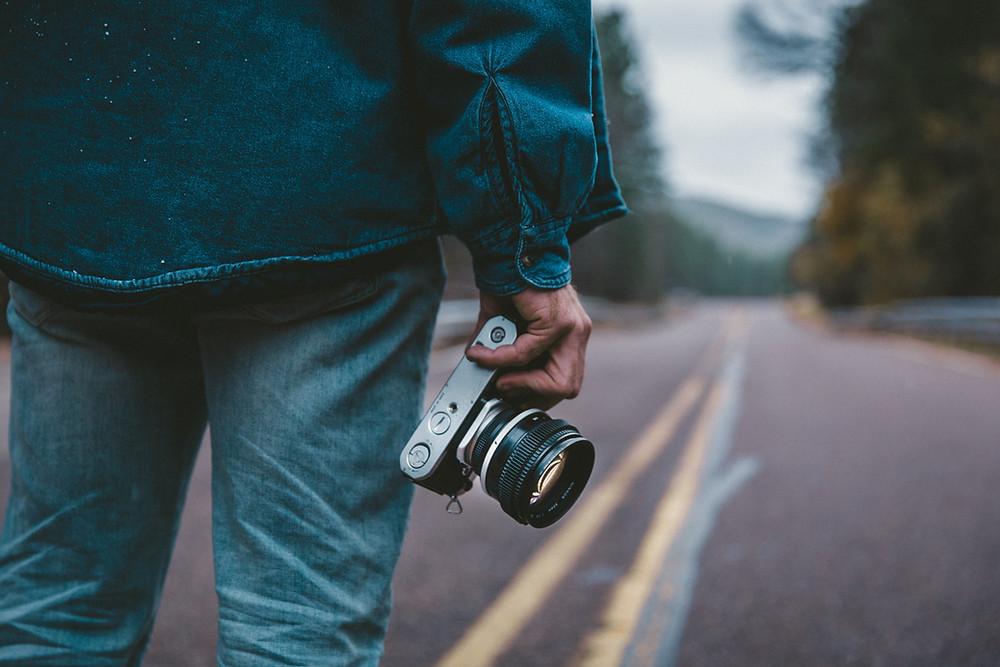 aprender fotografia tutorial camaras fotograficas, camara reflex