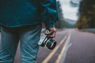 Photographer on Road