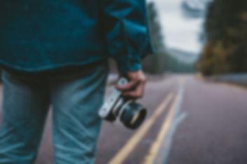 El fotógrafo en la carretera