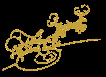 Logo Ceia de Natal em Gramdo dourada .pn