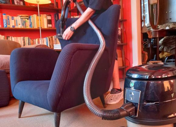 Higienização de poltronas e sofás