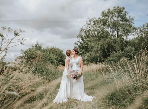 Wiltshire Wedding Photographer| Same Sex Countryside Wedding