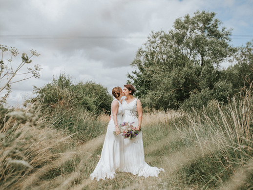 Wiltshire Wedding Photographer| Same Sex Countryside Wedding